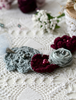 Picture of Grey & Burgundy Roses Necklace