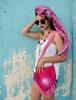 Picture of Pink Boho Shoulder Bag