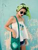 Picture of Green Boho Shoulder Bag