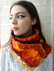 Picture of Boho Scarf: Autumnal Rhapsody