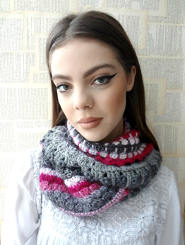 Picture of Boho Scarf: Winter Wonderland