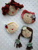 Picture of Crochet  Brooch: Olivia
