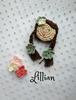 Picture of Crochet  Brooch: Lillian