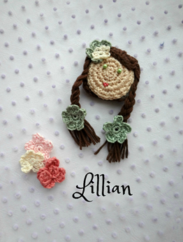 Picture of Crochet  Brooch: Lillian