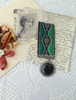 Picture of A Fashion Ribbon Medal: Green  - Victoriana Collection