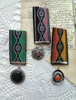 Picture of A  Ribbon Medal: Orange & Yellow  - Victoriana Collection