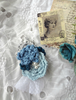 Picture of A Blue Rhapsody Brooch  - Victoriana Collection