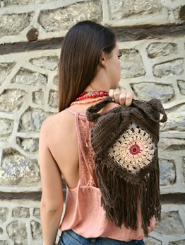 Picture of Brown Mandala Bag