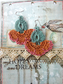 Picture of Thistle Oya Earrings