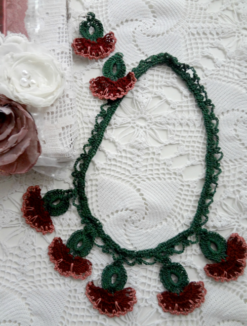 Picture of Desert Fruit  Oya Necklace