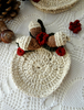 Picture of Woodland Crochet Coasters - a set of 4