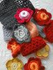 Picture of Crochet Squares Scarf